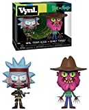 Funko 32264 VYNL 4' 2-Pack: Rick & Morty: Seal Rick and Scary Terry, Multi