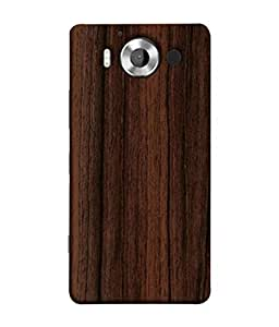 FUSON Designer Back Case Cover for Microsoft Lumia 950 :: Nokia Lumia 950 (Seamless Pattern Blue Design Drawing )