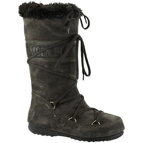 Moon Boot - Botas para mujer Marrón negro