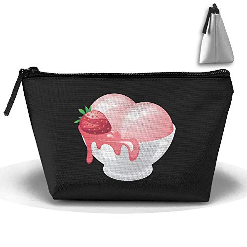 up Bag Ice Cream Storage Portable Travel Wash Tote Zipper Wallet Handbag Carry Case ()