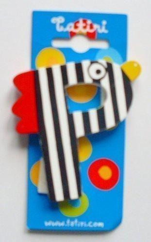 """Tatiri 72025 Holzbuchstabe""""crazy bird - P"""", 7 cm"""