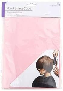 Cape de coiffure 140cm x 90cm - Rose