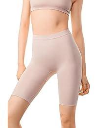 MD Ropa de moldear de mujer pantalones cortos de fuerza, adelgazamiento de estomago, de muslo interno y talle alta
