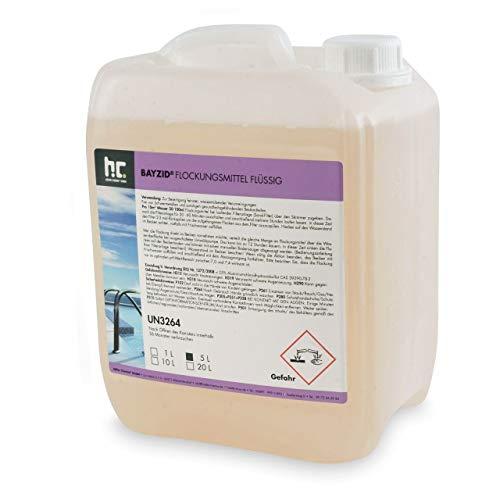 Höfer Chemie GmbH 4 x 5 L floculant Liquide - Frais DE Port Offert - en bidons de 5 L