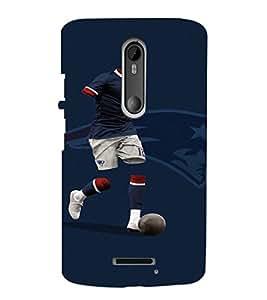 EPICCASE Footballer Mobile Back Case Cover For Moto X 3rd Gen (Designer Case)