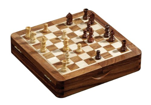 Philos 4014156027329 Tablero ajedrez plegable Juego