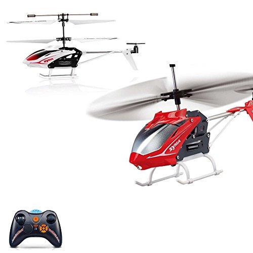 *3.5 Kanal RC ferngesteuerter Hubschrauber inkl. Ersatzteile-set, Modellbau-Helikopter mit neuester Gyro-Technik, Ready-to-Fly, Neu*