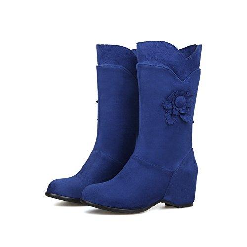 AdeeSu , Bottes de Neige femme Bleu