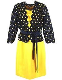 SONIA PENA Completo Donna 46 Blu Giallo 11180190 Primavera Estate 2018 67ff5cb0bff