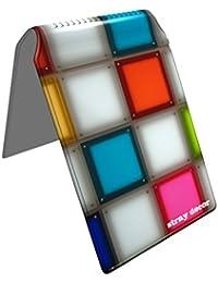 Stray Decor (Coloured Glass) Étui à Cartes / Porte-Cartes pour Titres de Transport, Passe d'autobus, Cartes de Crédit, Navigo Pass, Passe Navigo et Moneo