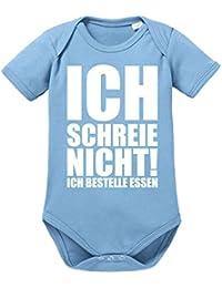 Baby Body 56 62 68 La Wickelbody Langarmbody Natural Unisex Blau Baby & Toddler Clothing Girls' Clothing (newborn-5t)