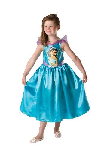 Karneval Kinder Kostüm Prinzessin Jasmin aus Aladdin Fasching (Aladdin Jasmin Prinzessin Und Kostüme)