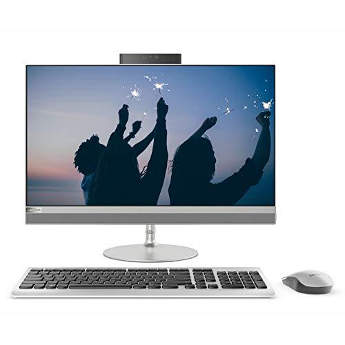 Lenovo ideacentre 520-24IKU All in One, Display 23.8 FHD IPS, Processore Intel I5-8250U, RAM 8 GB, Storage 1 TB HDD, Grafica Condivisa, Windows 10, Silver, F0D200C0IX