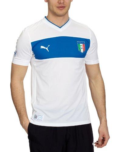 Puma Herren Fußballtrikot Italia Away Replica, White, XXXL, 740357 02 - Italienische Nationalmannschaft Trikot
