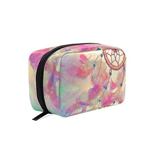 Bolsa de maquillaje atrapasueños bolsa de cosméticos