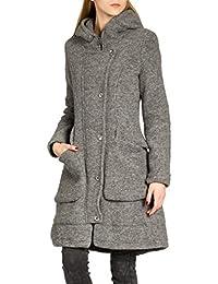 CASPAR MTL011 Damen Wollmantel