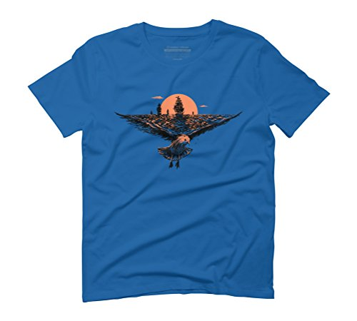 the great voyage Men's Graphic T-Shirt - Design By Humans Royal Blue