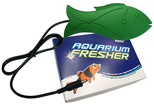 Aquarium Fresher Large | Für Süßwasser-Aquarien bis ca. 500L | Gegen Algen und trübes Wasser | Fisch-Design || for Freshwater-Aquariums up to 500L | Against Algae and Cloudy Water | Fish Design -