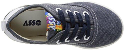 ASSO 46950, Baskets Basses garçon Bleu