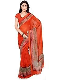 Vaamsi Printed Saree (Empress1008_Red_6.3 m length)
