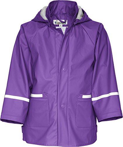 Playshoes Unisex - Kinder Regenmantel 408638 Regenjacke Basic, Gr. 104, Violett (19 lila)