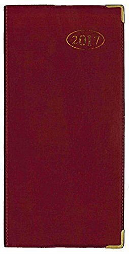 tallon-2017-week-to-view-red-slimline-business-office-diary-3634-red-by-tallon