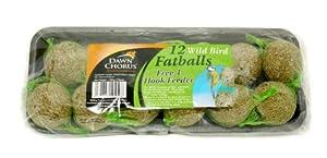 Bulldog Products Ltd Link Fat Balls Original 12Pk from Bulldog Products Ltd