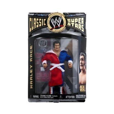 WWE - Harley Rennfahren Figur - Klassisch Super Sternen - Sammler Serie #10 - Beinhaltet Kleiderschrank - Wrestlemania Ticket-aktion (Wwe Tickets)