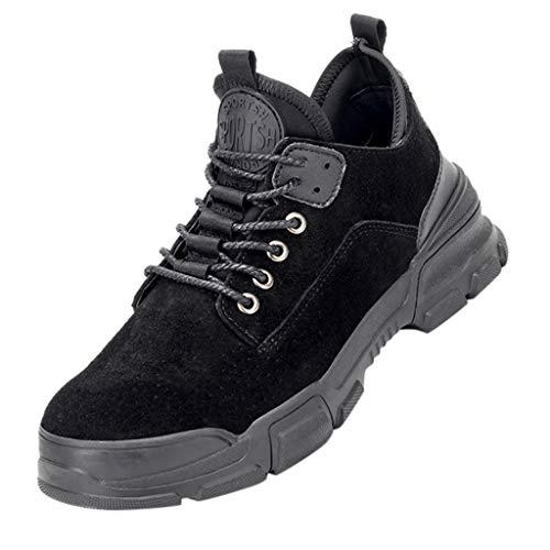 Herren Sicherheitsschuhe Herren Damen Arbeitsschuhe mit Stahlkappe Atmungsaktiv Leicht Sportlich Sneaker Schutzschuhe