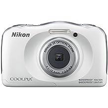 "Nikon COOLPIX W100 Cámara compacta 13.2MP 1/3.1"" CMOS 4160 x 3120Pixeles Blanco - Cámara digital (13,2 MP, 4160 x 3120 Pixeles, 1/3.1"", CMOS, 3x, Blanco)"