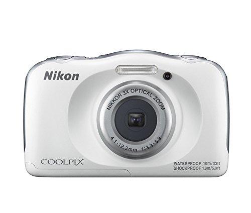Nikon Coolpix W100 Kamera weiß