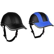 MagiDeal 2pcs Gorras de Béisbol Estilo Casco Anti-UV Visera Segura Sombrero Casco Protector Seguro