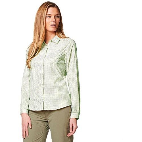 1 2 ärmel Roll-up-shirts Damen (NosiLife Da. Langarmbluse Adoni)