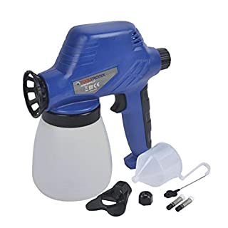 TOOLTRONIX 80W Electric PRO Spray Paint Gun for Fence CAR Varnish Sealer Primer