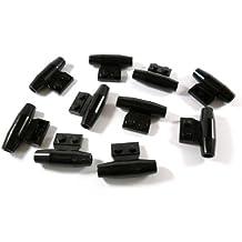 LEGO®  1x2 Grundbausteine mit clip weiß 10 Stück