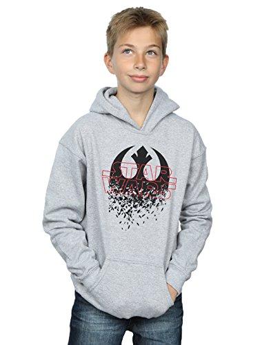 STAR WARS niños The Last Jedi Shattered Emblem Capucha