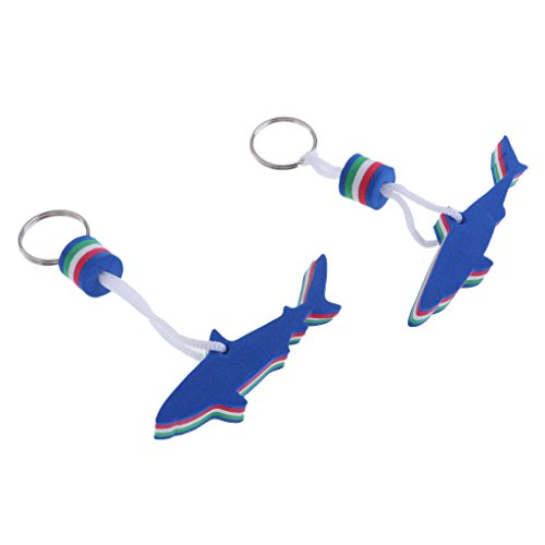 Homyl 2er Pack Schlüsselanhänger Anhänger schwimmend Schlüsselring Schlüsselband Schlüsselbunf Auftriebskörper