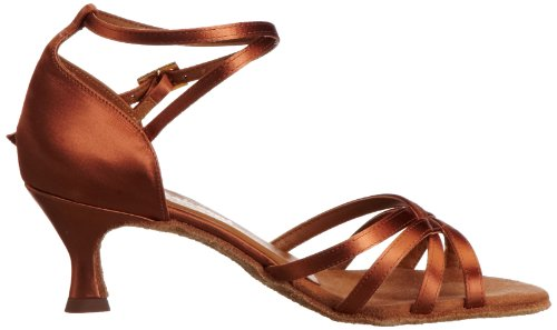 International Dance Shoes Melissa, Damen Sportschuhe - Tanz Braun (Tan Satin)