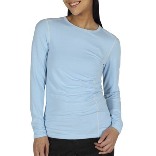 exofficio Damen teanaway Crew Long Sleeve Shirt Frost