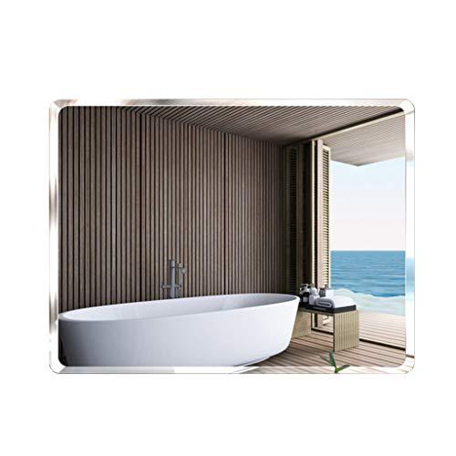 Badezimmer Frameless Spiegel | Wandverfassungsspiegel | Rasierspiegel | Dekorative Spiegel | Europäischer minimalistischer Stil