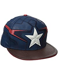 New Era Avengers Age Of Ultron Captain America Armor 5950 Fitted Baseball  berretto 48c683b2ce23