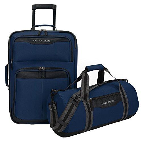 us-traveler-hillstar-2-piece-casual-luggage-set-navy