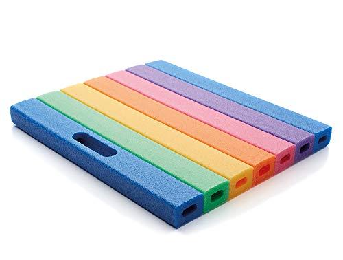 NMC Mehrzweckkissen Kniekissen Sitzkissen Comfy® Pad in den Regenbogenfarben