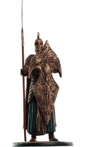 Lord of the Rings Señor de los Anillos Figurine Collection Nº 166 Galadhrim Warrior 1
