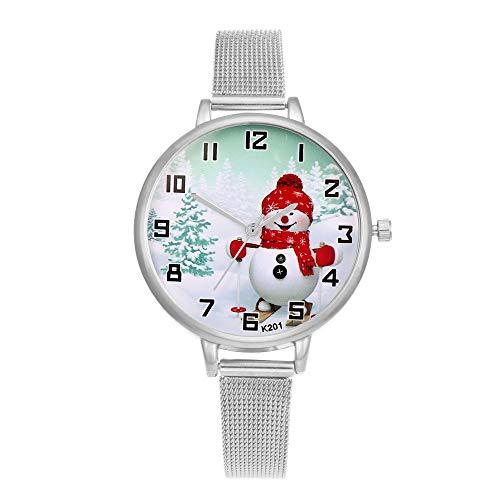 Floweworld Uhren Damen,Herren Uhren, Wasserdichte Luxus Watches Business Armbanduhr Ziffern Quarz Analog Handgelenk Kleine Zifferblatt zarte Uhr Luxus Uhren Weihnachten