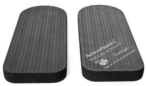 Fit Pads für Stepper oder Crosstrainer Schaumstoff Polster Auflagen Zubehör schw