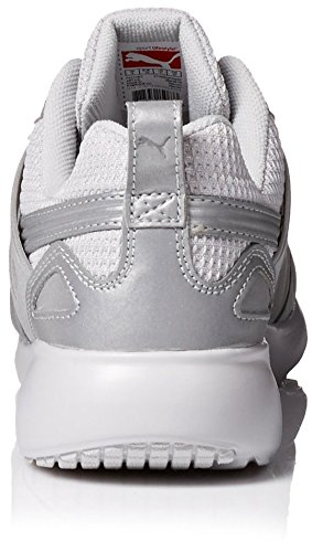 Puma Arial Reflective Synthétique Baskets Silver Metallic