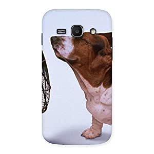 Stylish Dog Fan Back Case Cover for Galaxy Ace 3