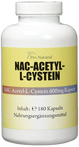 NAC - N-Acethyl L-Cystein 600 mg - 180 Kapseln