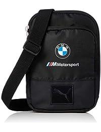 c500f63dd8808 Puma BMW SMALL PORTABLE Kleine Taschen herren Schwarz Geldtasche Handtasche